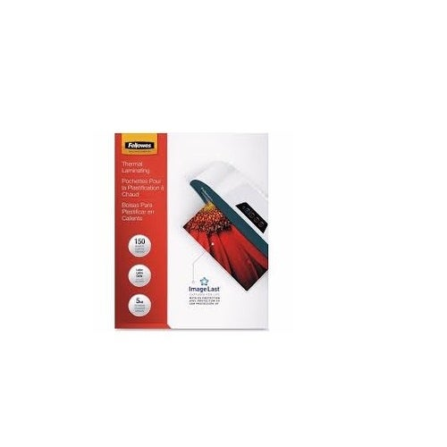 Fellowes 5204007 Letter Laminating Pouches With Uv Protection