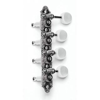Grover GV-309FN F Style Mandolin Machine Heads -Nickel