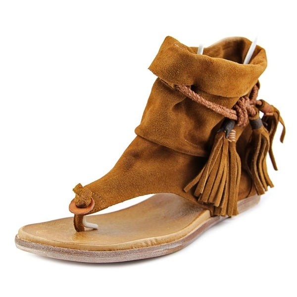 e6808f8f26 Shop Free People Marlo Boot Sandal Women Open Toe Suede Brown Thong ...