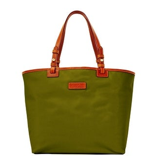 Dooney & Bourke Nylon Lee Tote (Introduced by Dooney & Bourke at $168 in Sep 2016) - Olive