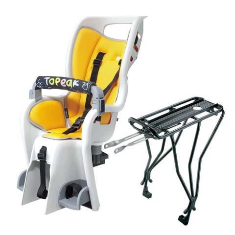 Topeak BabySeat II with Disc Mount Bike Rack for 26-Inch Wheel