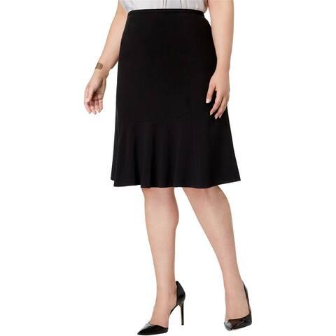 Nine West Womens Replen Flared Skirt