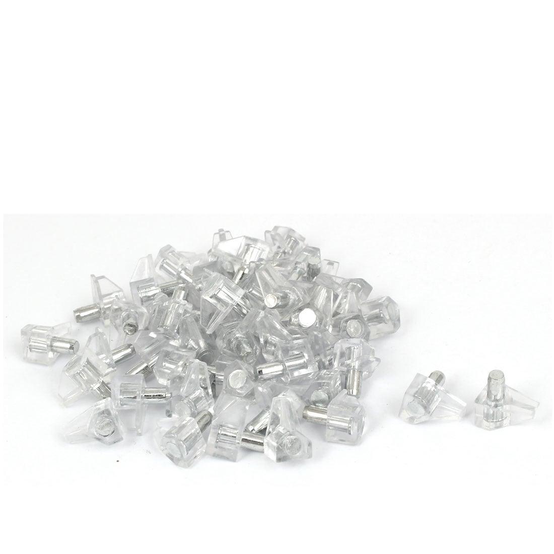 Kitchen Cabinet Shelves 5mm Metal Pin Plastic Shelf Supports Pegs Studs 50pcs Lib Fib Ugm Ac Id