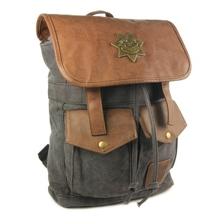 The Walking Dead Rick's Sheriff Backpack (Black)