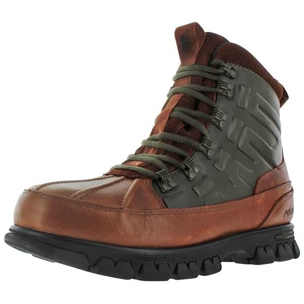 Polo Ralph Lauren Men's Delton Duck Leather Boots