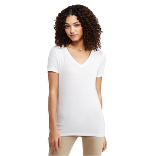 Link to Aeropostale Womens Seriously Soft Slim Basic T-Shirt Similar Items in Intimates
