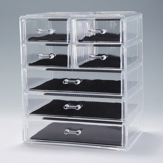 Link to Home Acrylic Jewelry Cosmetic Storage Box Makeup Organizer Similar Items in Makeup Brushes & Cases