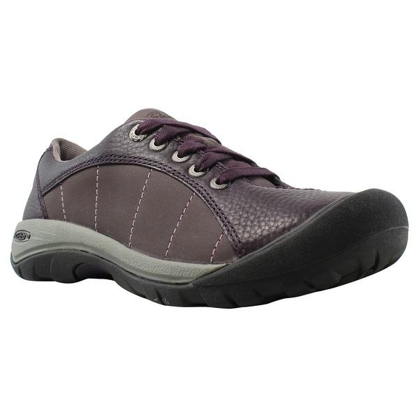 19644cdd6906 Shop KEEN Womens Presidio Plum Trail   Hiking Shoes Size 5 - Free ...