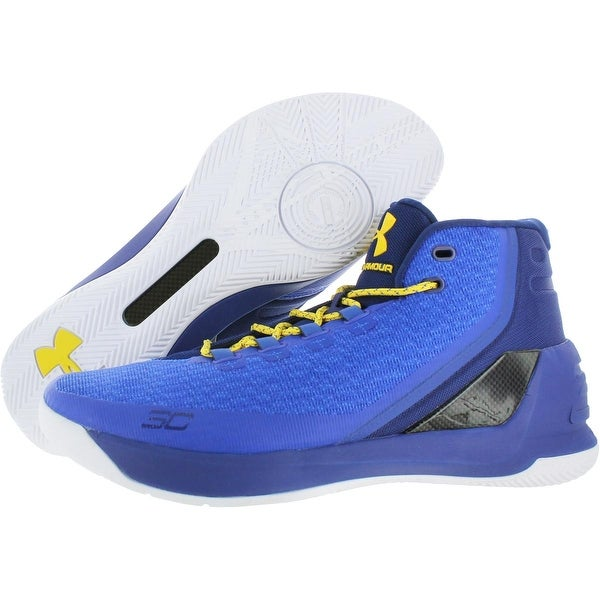 Shop Under Armour Mens Curry 3 High Top