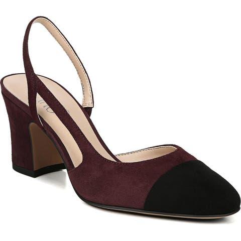 Franco Sarto Womens Imogen Slingback Heels Dressy Ankle