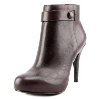 Nine West Go With It   Round Toe Leather  Ankle Boot
