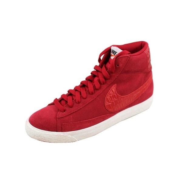 Nike Men's Blazer Mid Premium Vintage Gym Red/Gym Red-Sail 638261-601