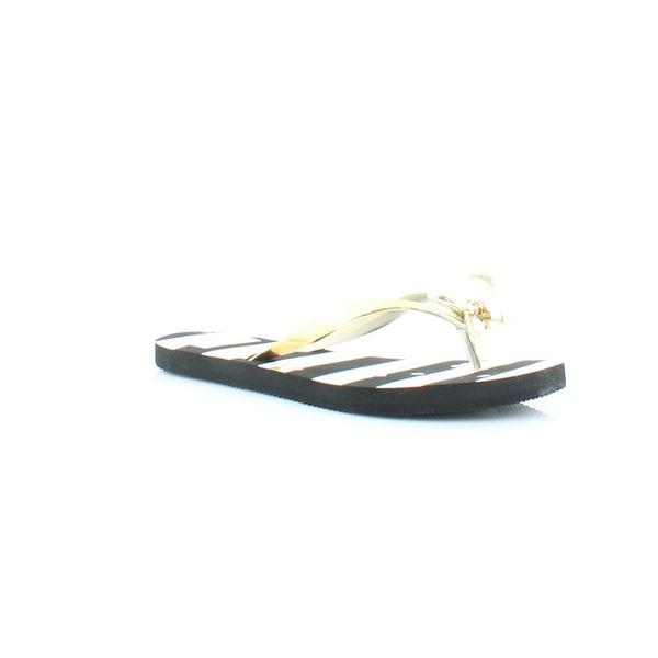 Kate Spade Nova Women's Sandals & Flip Flops Black/White Stripe - 5