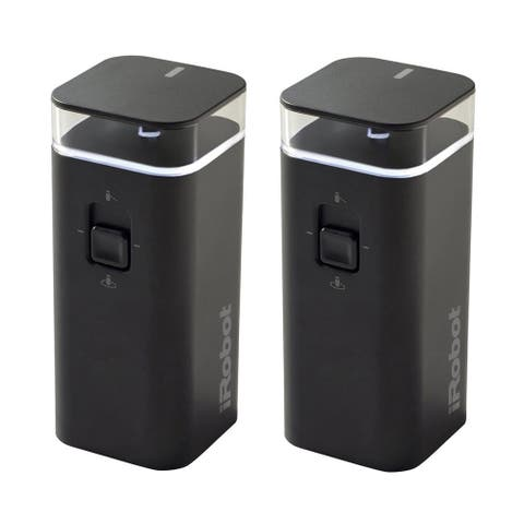 iRobot Authentic Parts Dual Mode Virtual Wall Barrier (2-Pack) - Black