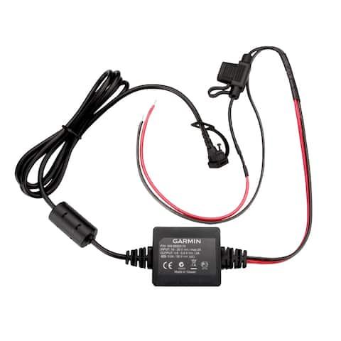 Garmin motorcycle power cord 010-11843-01 - Black