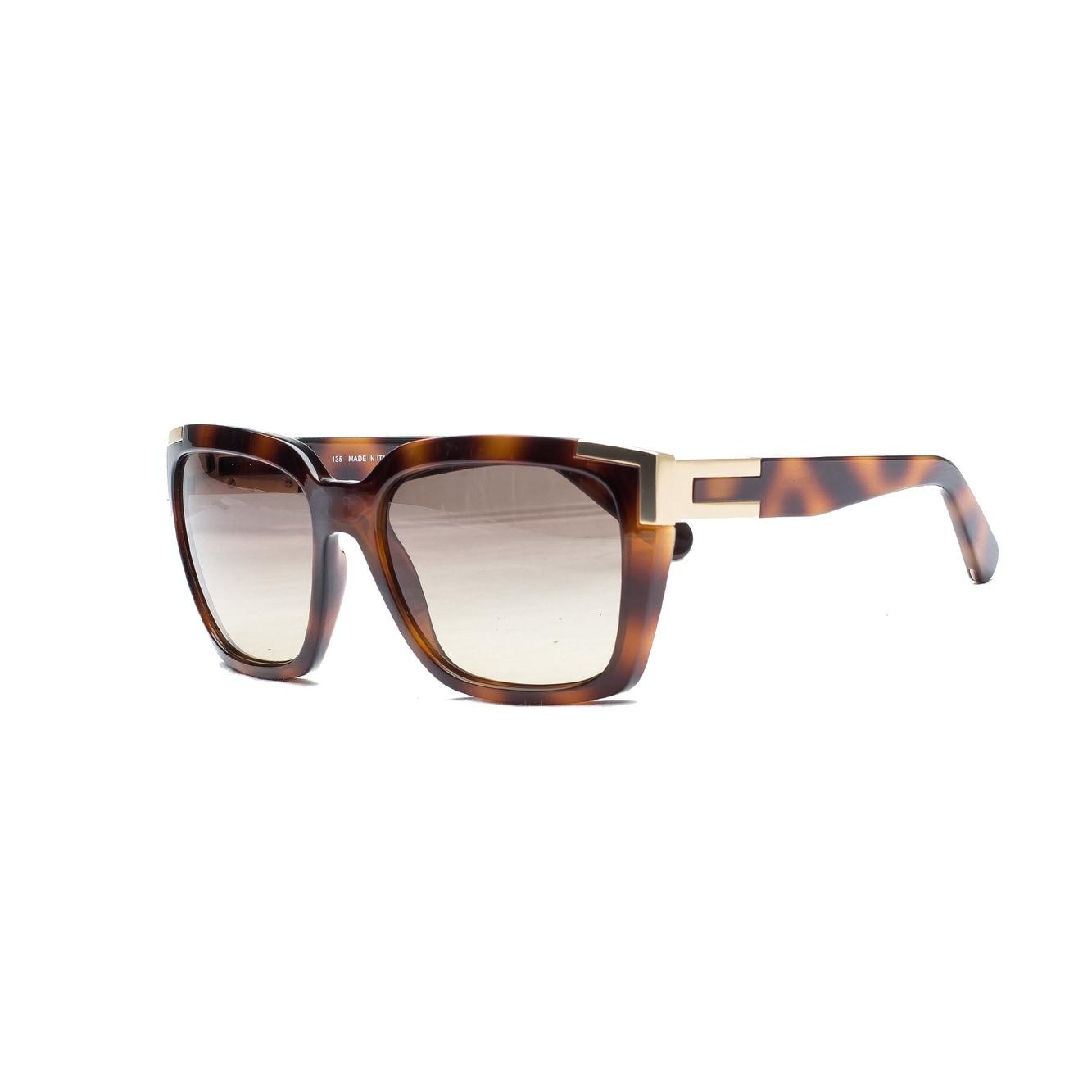 Chloe Women's Alexi Sunglasses Havana - Small - Thumbnail 0