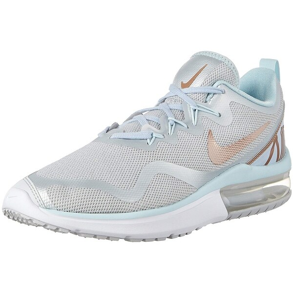 arrives 8cfdb e7d29 Nike Women s Shoes Air Max Fury Sneakers Pure Platinum Metallic Red Bronze .