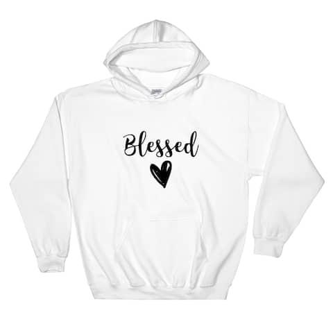 Blessed Pullover Pocket Hoodie