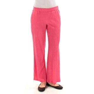 Womens Pink Wear To Work Straight leg Pants Petites Size XS