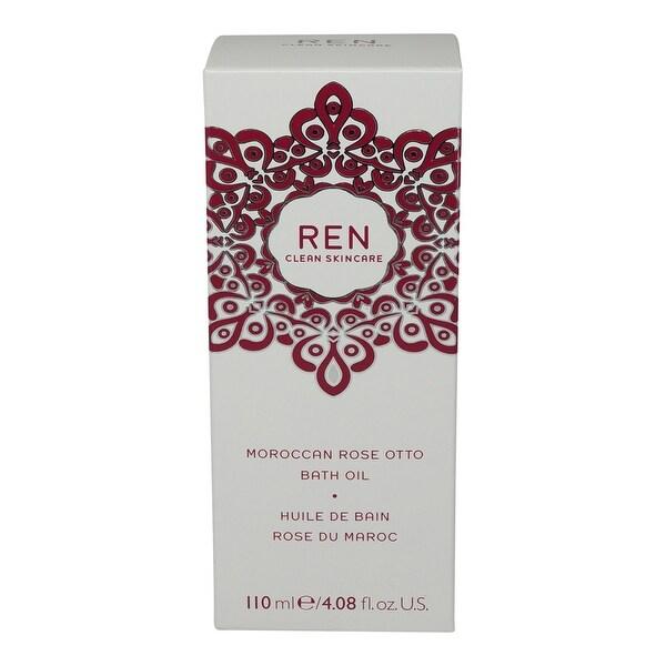 REN Skincare Moroccan Rose Otto Bath Oil 4.08 Oz