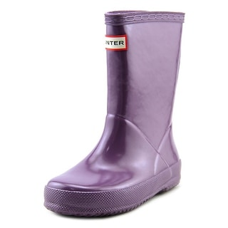 Hunter Org Kids First Gl Box Round Toe Synthetic Rain Boot