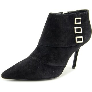 Roger Vivier Ankle Boot Agrafe T.85 Pointed Toe Suede Bootie