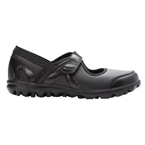 Propet Onalee Walking Womens Walking Sneakers Shoes Casual - Black