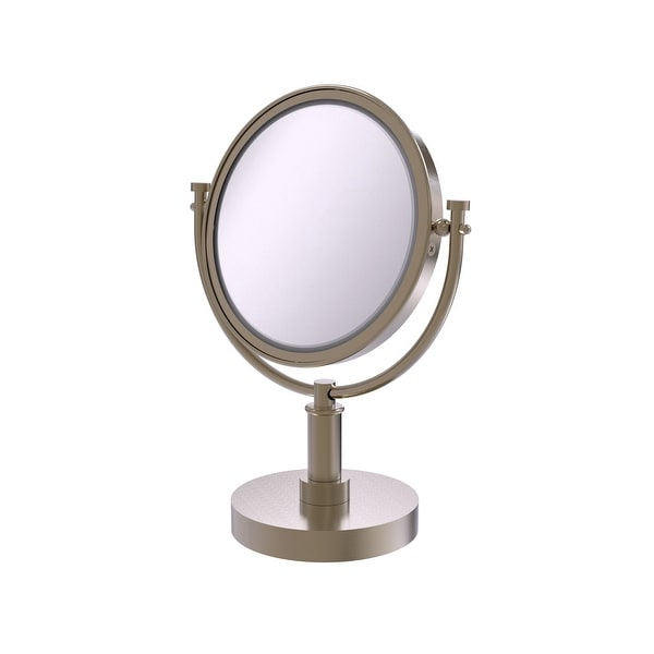 Allied Brass 8-in Vanity Top Make-Up Mirror 5X Magnification