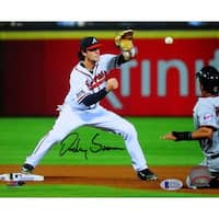 Dansby Swanson Signed Atlanta Braves 8x10 Photo Beckett BAS