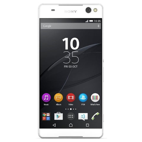 Sony Xperia C5 Ultra E5506 16GB Unlocked GSM Android Phone w/ Dual 13MP Front & Back Camera - White