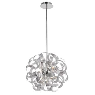 """Artcraft Lighting AC621 Bel Air 12 Light 24"""" Wide Abstract Chandelier