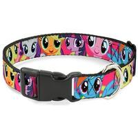 Buckle-Down My Little Pony Fuchsia Pet Collar - Large