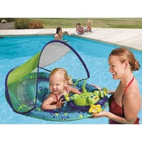"""36"""" Blue and Green Octopus Swimming Pool Step 1 Baby Spring Float Activity Center"""