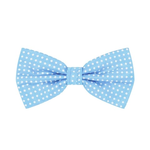 Jacob Alexander Polka Dot Print Men's Polka Dotted Pretied Bowtie - One Size