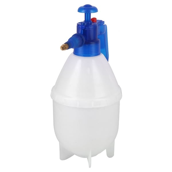 Garden Plastic Watering Vegetable Flower Trigger Bottle Blue 1.5L