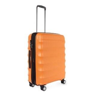 Antler Juno DLX Hardside Expandable Luggage Carry-On, Orange