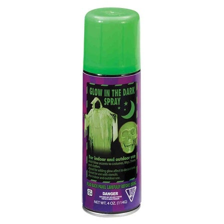 Glow In The Dark Spray Can 4oz