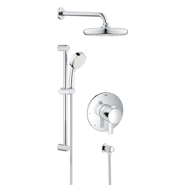Shop Grohe 35 051 1 Europlus Shower Trim Package w/ Single Function ...