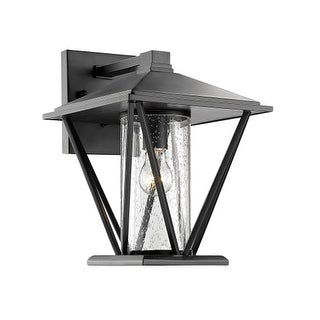"""Millennium Lighting 2523 Single Light 14-1/4"""" High Outdoor Wall Sconce with Glass Shade"""