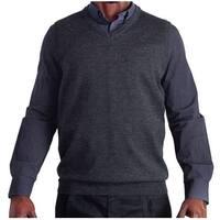 Blue Ocean Big and Tall Heather Sweater Vest (SV-280BM)
