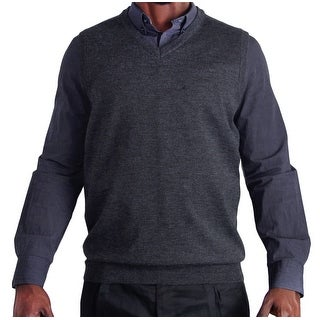 Blue Ocean Big and Tall Heather Sweater Vest (SV-280BM)