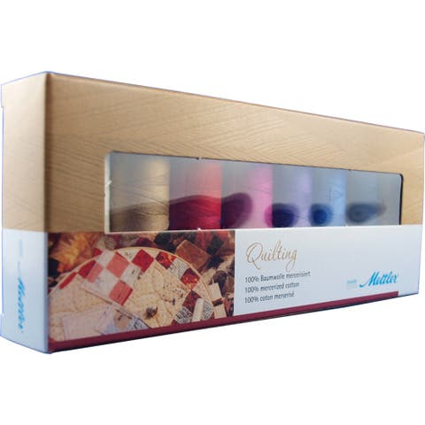 Cotton Machine Quilting Thread Gift Pack 8/Pkg- - Medium