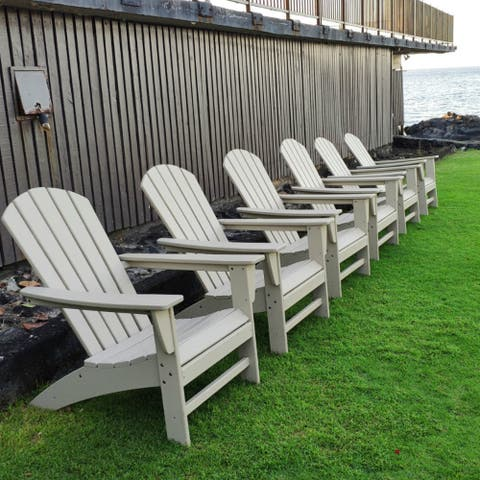 Moda Outdoor HDPE Resin Wood Classic Adirondack Chair