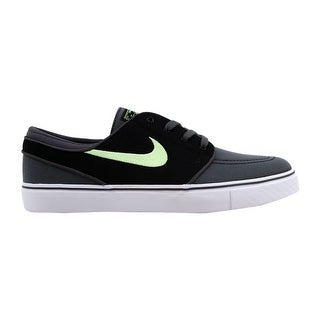 wholesale dealer eeed7 70329 Shop Nike Zoom Stefan Janoski Canvas Dark Grey Barely Volt-Black 615957-070  Men s - Free Shipping Today - Overstock - 22340132