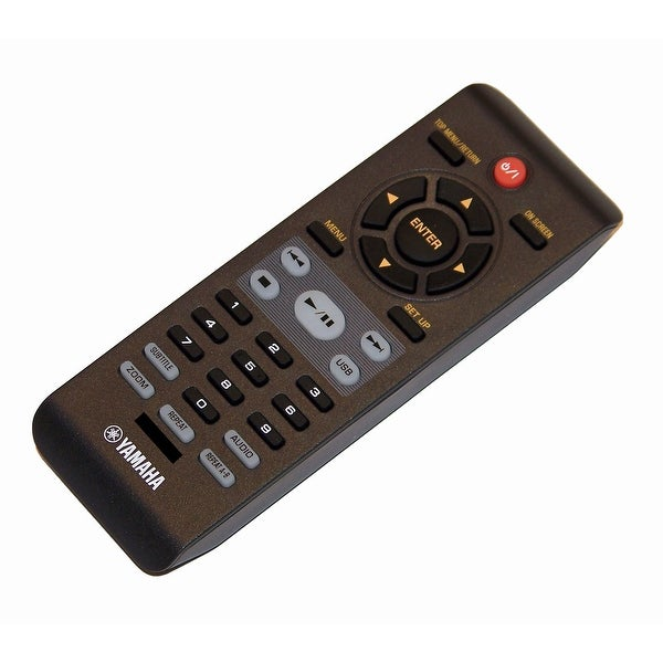 OEM Yamaha Remote Control Originally Supplied With: DVDS661, DVD-S661, DVDS661BL, DVD-S661BL, DVS6160, DV-S6160