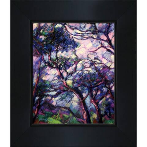 "ArtistBe Meyendel with New Age Black Frame, 12.75"" x 14.75"""