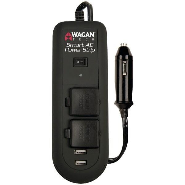 Wagan Tech 2621 Smart Ac(R) Power Strip Inverter