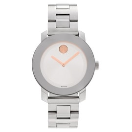 Movado Women's 'Bold' 3600084 Stainless Steel Link Bracelet Watch