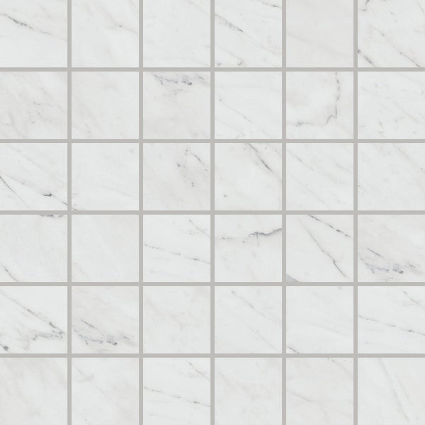 """Daltile MA22MSMT1P Marble Attache Lavish - 2"""" x 2"""" Square Straight Joint Mosaic Floor and Wall Tile - Matte Marble Visual -"""