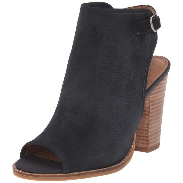 Lucky Brand Womens lisza Fabric Peep Toe Casual Slingback Sandals